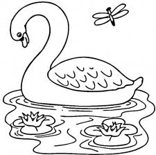 Barbie of Swan Lake Children Coloring Pages 2