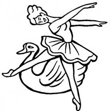 Barbie of Swan Lake Children Coloring Pages 3