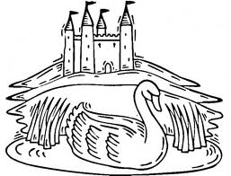 Barbie of Swan Lake Children Coloring Pages 5