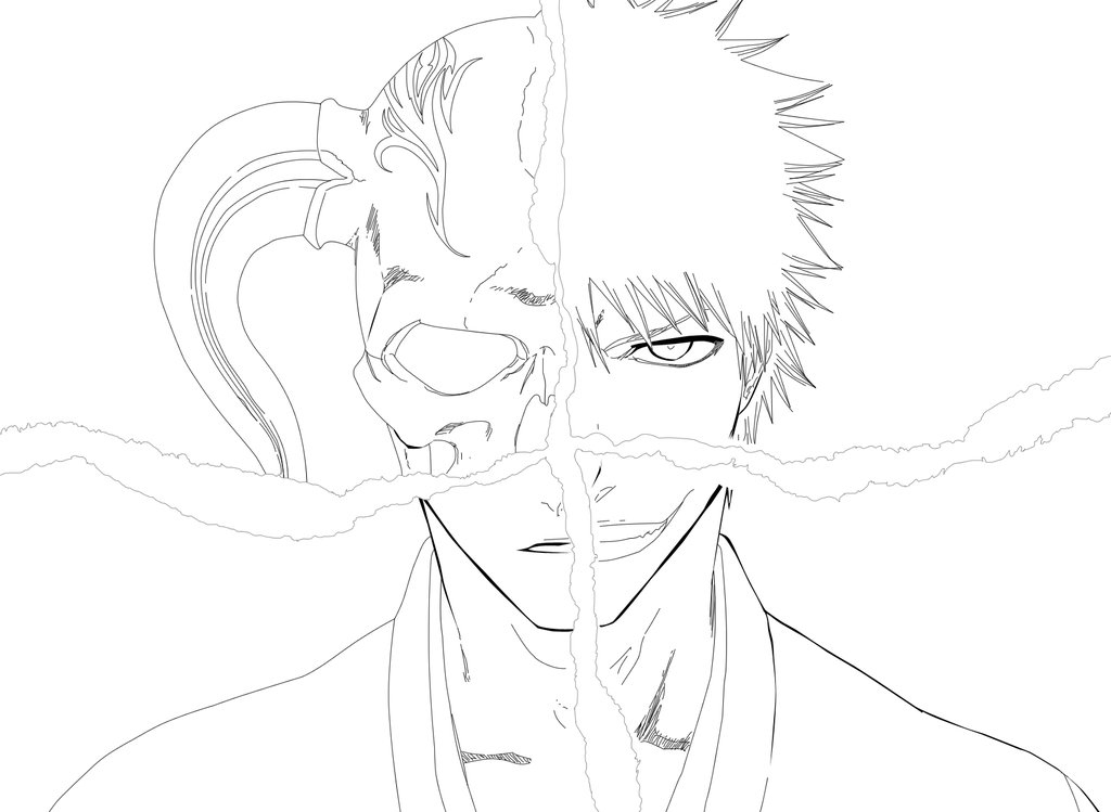 Bleach Children Coloring Pages 1