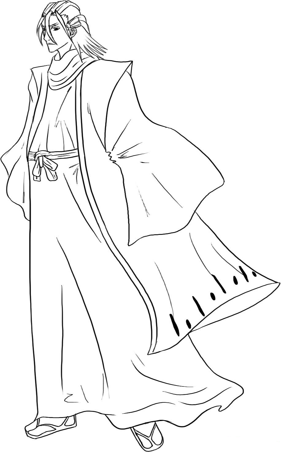 Bleach Children Coloring Pages 3