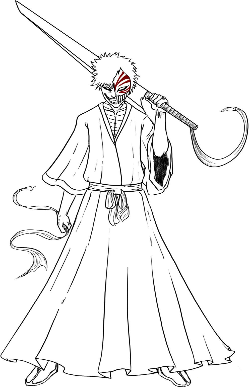 Bleach Children Coloring Pages 5
