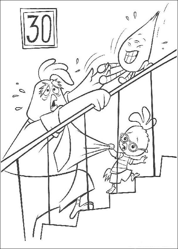 Chicken Little Children Coloring Pages 3