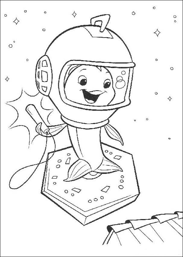 Chicken Little Children Coloring Pages