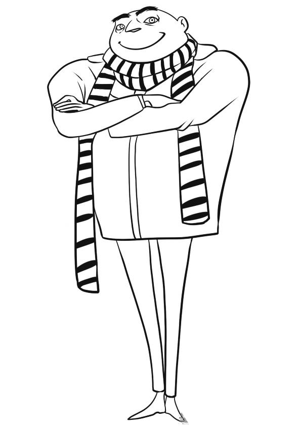 Despicable Me Children Coloring Pages 8
