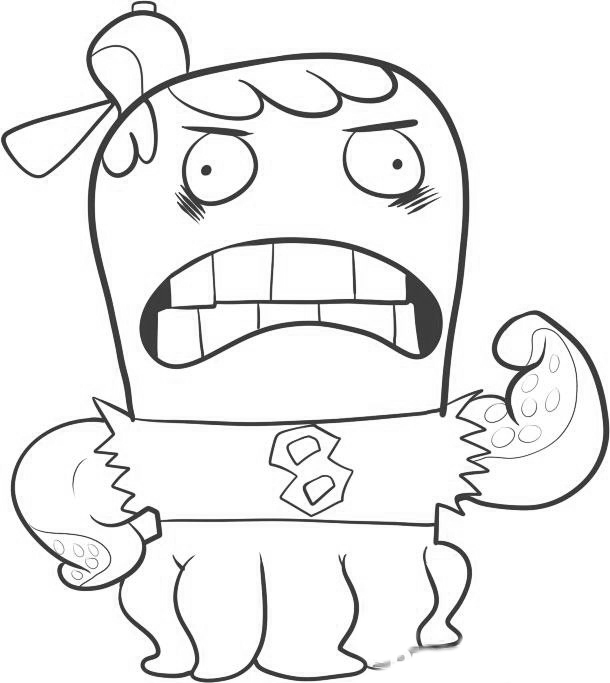 Fish Hooks Children Coloring Pages 7
