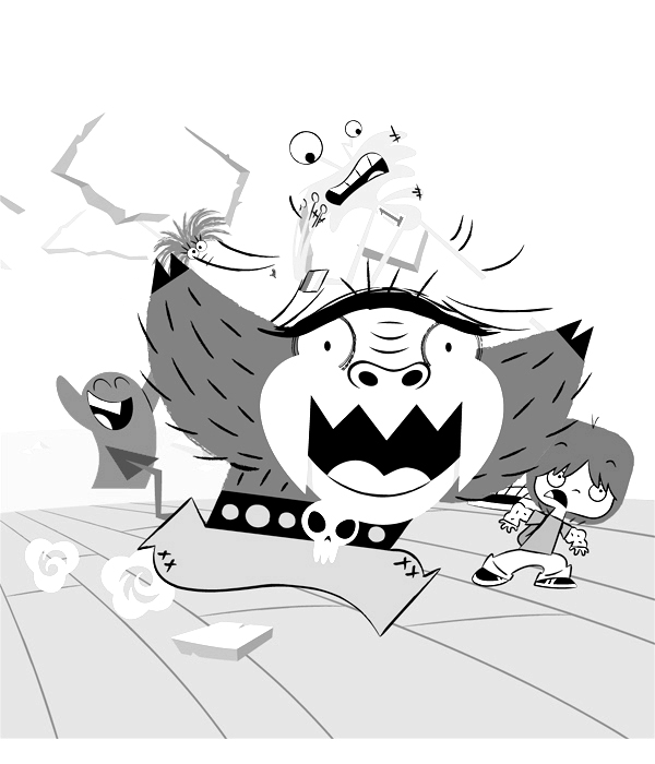 Fosters Home For Imaginary Friends Children Coloring Pages 9
