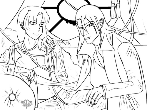 Inuyasha The Final Act Children Coloring Pages 1