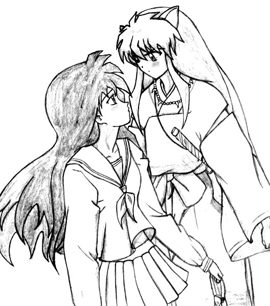 Inuyasha The Final Act Children Coloring Pages 5
