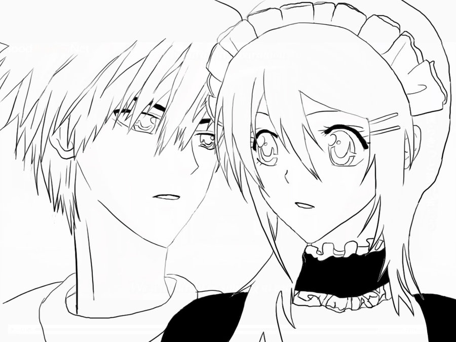 Maid Sama Children Coloring Pages 6