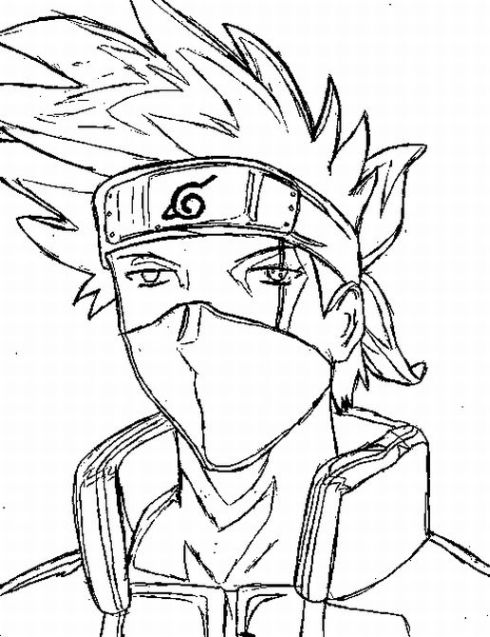 Naruto Coloring Pages 4