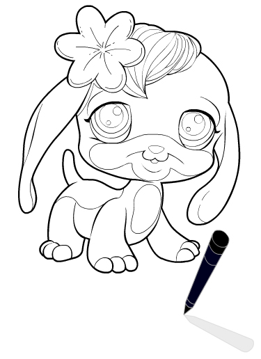 Pets Coloring Pages 3