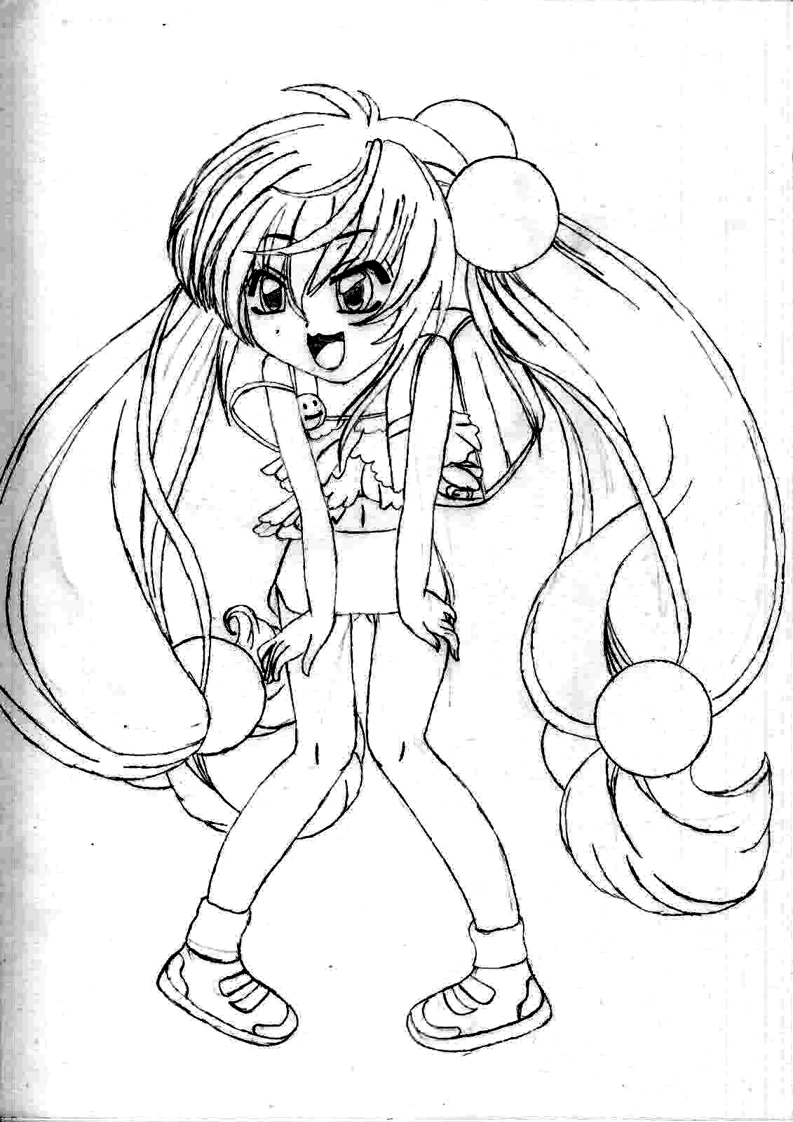 Shakugan No Shana II Children Coloring Pages 9