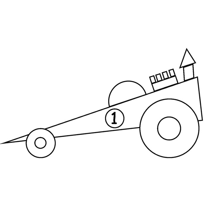 coloring pages for toddlers shapes kids greensmosaic