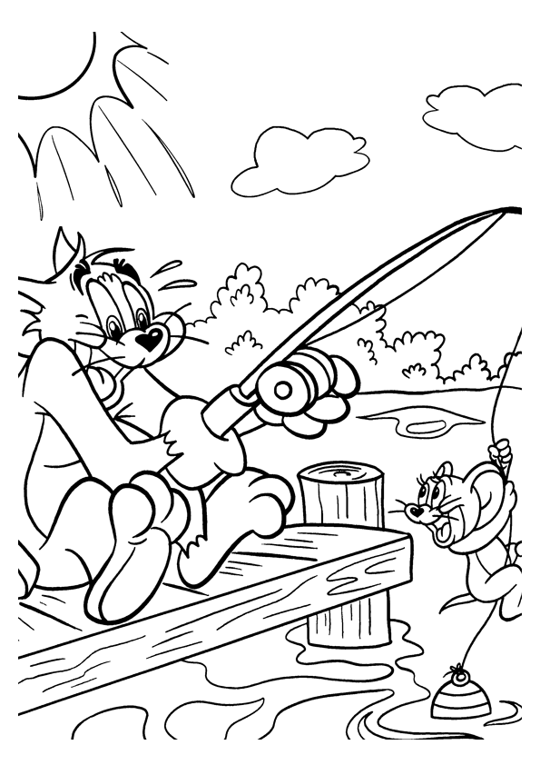 Tom and Jerry The Movie Children Coloring Pages 1